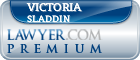 Victoria Anne Sladdin  Lawyer Badge