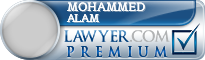 Mohammed Imran Alam  Lawyer Badge