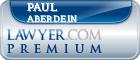 Paul Aberdein  Lawyer Badge
