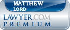 Matthew Graham Lord  Lawyer Badge