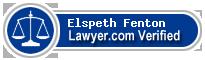 Elspeth Christina Fenton  Lawyer Badge