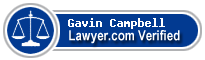 Gavin Francis Campbell  Lawyer Badge