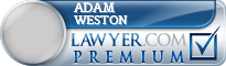 Adam William Weston  Lawyer Badge