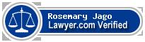 Rosemary Alison Jago  Lawyer Badge