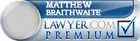 Matthew Richard Braithwaite  Lawyer Badge