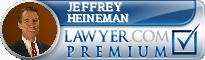 Jeffrey P. Heineman  Lawyer Badge