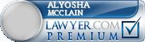 Alyosha Conan Mcclain  Lawyer Badge