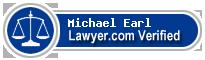 Michael Glen Earl  Lawyer Badge