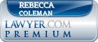 Rebecca Lynn Coleman  Lawyer Badge