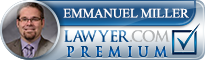 Emmanuel B Miller  Lawyer Badge