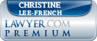 Christine P Lee-french  Lawyer Badge