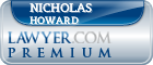 Nicholas Howard  Lawyer Badge