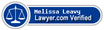 Melissa Leavy  Lawyer Badge
