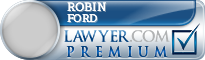 Robin David Ford  Lawyer Badge