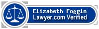 Elizabeth Sarah Foggin  Lawyer Badge