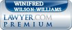 Winifred Wilson-Williams  Lawyer Badge