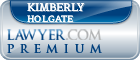 Kimberly Anne Holgate  Lawyer Badge