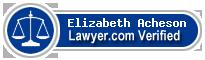 Elizabeth Sian Acheson  Lawyer Badge