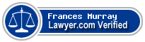 Frances Rose Edith Murray  Lawyer Badge