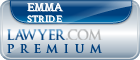 Emma Jane Stride  Lawyer Badge