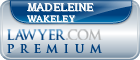 Madeleine Sarah Wakeley  Lawyer Badge