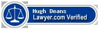 Hugh Storry Deans  Lawyer Badge