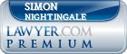 Simon Christopher Nightingale  Lawyer Badge