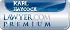 Karl Nicolas Haycock  Lawyer Badge