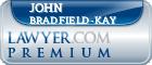 John Ronald Bradfield-Kay  Lawyer Badge