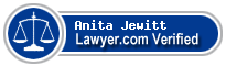 Anita Jewitt  Lawyer Badge