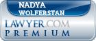 Nadya Esther Elizabeth Pipe Wolferstan  Lawyer Badge