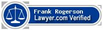 Frank Alan Rogerson  Lawyer Badge