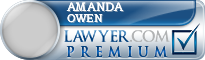 Amanda Elizabeth Owen  Lawyer Badge