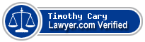Timothy John Cary  Lawyer Badge