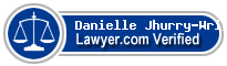 Danielle Jhurry-Wright  Lawyer Badge