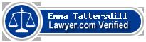 Emma Louise Tattersdill  Lawyer Badge