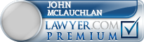 John Hamilton Mclauchlan  Lawyer Badge