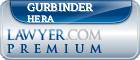 Gurbinder John Singh Hera  Lawyer Badge
