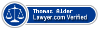 Thomas Charles Elliott Alder  Lawyer Badge