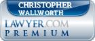 Christopher Michael Wallworth  Lawyer Badge