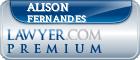 Alison Rose Fernandes  Lawyer Badge