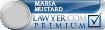 Maria Mustard  Lawyer Badge