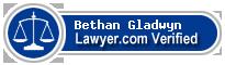 Bethan Anne Gladwyn  Lawyer Badge