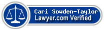 Cari Sowden-Taylor  Lawyer Badge