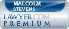 Malcolm William Stevens  Lawyer Badge