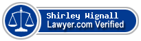 Shirley Ann Wignall  Lawyer Badge