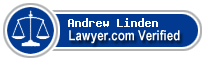Andrew John Ronald Linden  Lawyer Badge