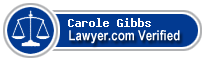 Carole Dutton Gibbs  Lawyer Badge