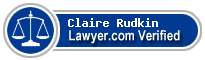 Claire Louise Rudkin  Lawyer Badge