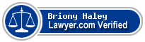 Briony Michelle Haley  Lawyer Badge